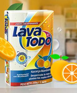 Lavatodo | naranja