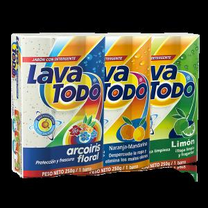 Jabón con detergente - Lavatodo