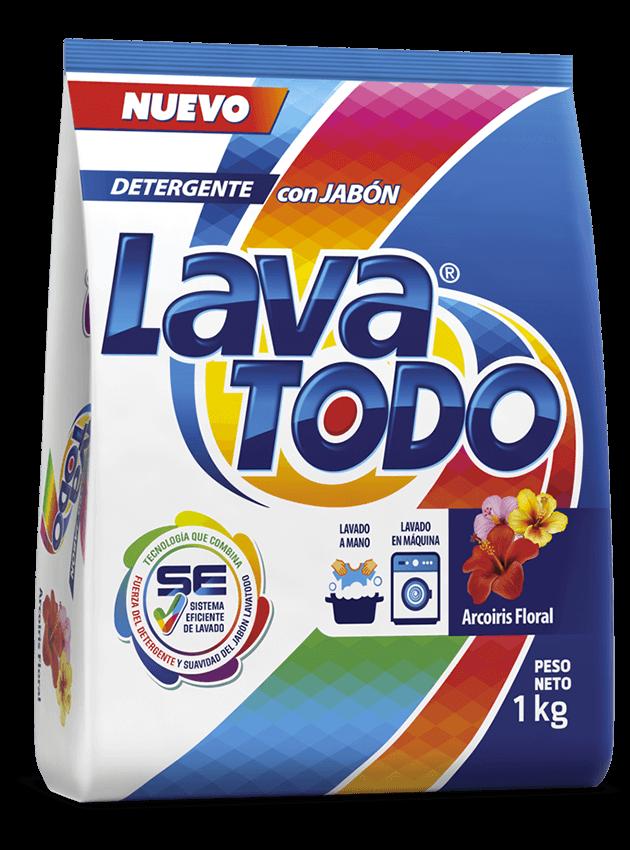 Lavatodo Detergente Floral - Lavatodo