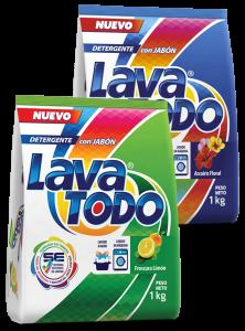Detergentes: Lavatodo Limón y Lavatodo Floral - Lavatodo