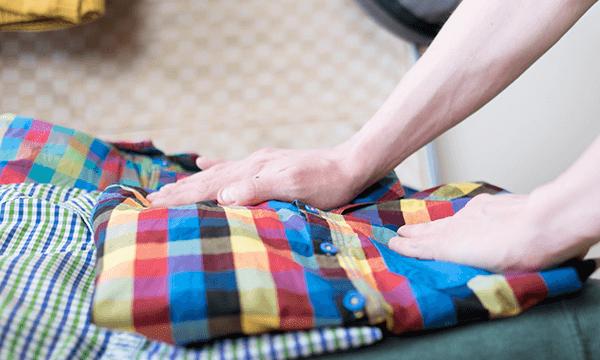 No más blusas arrugadas en la maleta - Lavatodo