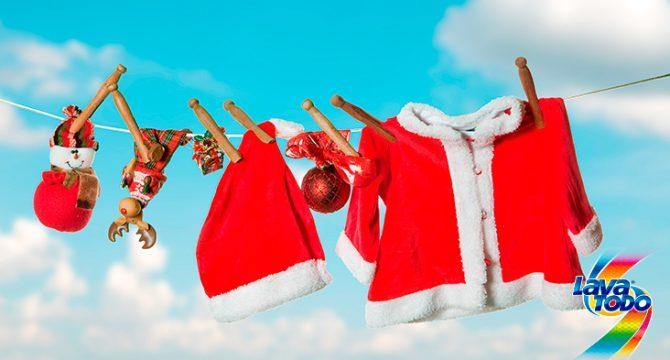 Cómo cuidar tus prendas especiales para la época navideña - Lavatodo